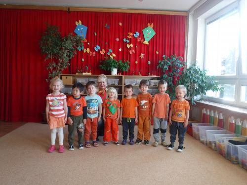 Oranžový den u Slůňat